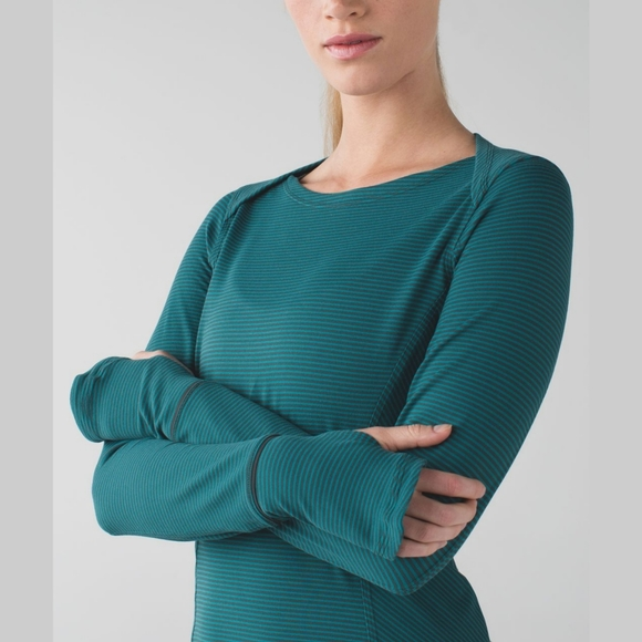 Lululemon Kanto Catch Me Long Sleeve T-Shirt Sz 12